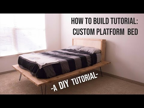 How to Build an Amazing Platform Bed - A DIY Tutorial