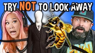 Download Generations React To Try Not To Look Away Challenge (Biggest Fears Game) Mp3 and Videos