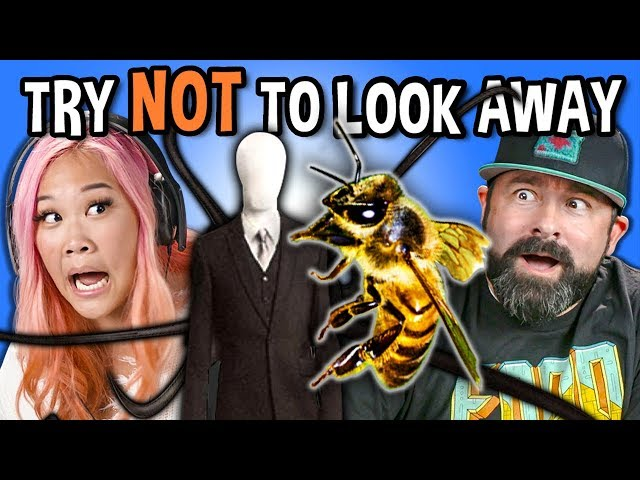 Generations React To Try Not To Look Away Challenge (Biggest Fears Game)