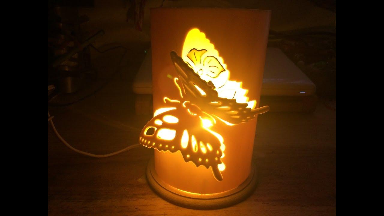 L mpara pvc para bur 3d youtube - Como hacer lamparas de techo artesanales ...