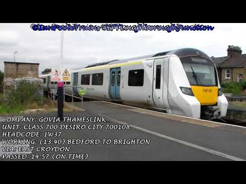 Season 8, Episode 387 - Trains at Loughborough Junction station