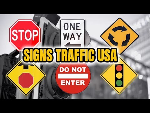 HOW TO READ TRAFFIC SIGNS/DRIVING TEST 2019/ROAD SIGNS