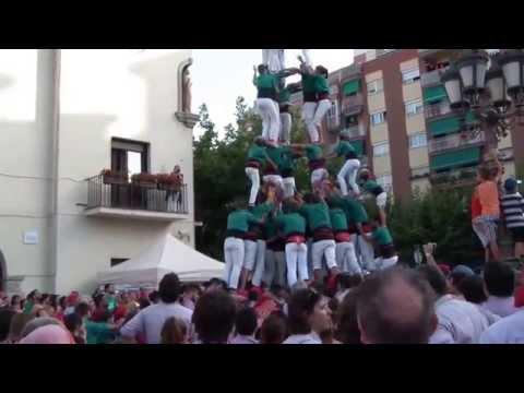 """Castellers de Sabadell - """" 3d9fc """" (Festa Major Barberà del Vallès 2015)"""