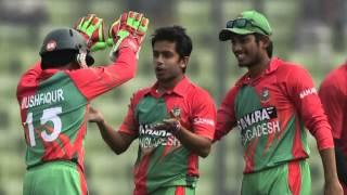 Taijul debut hat-trick seals 5-0 win BANGLADESH V ZIMBABWE, 5TH ODI, MIRPUR