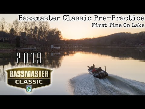 FIRST time EVER fishing Fort Loudoun! Bassmaster Classic Pre-Practice: How I Practice