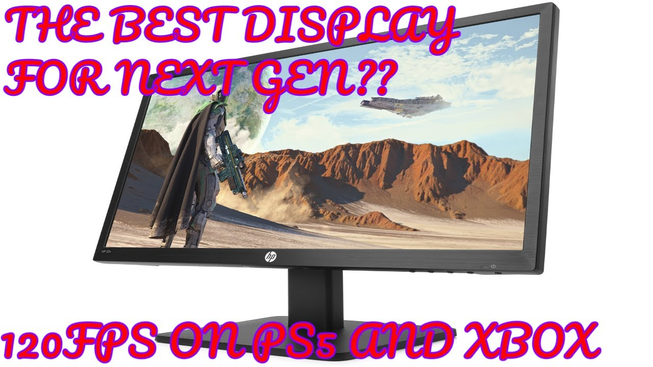 Is this the BEST 120FPS Display for PC, PS5 & Xbox Series S/X? (HP22X Review)