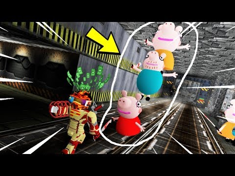 Roblox Survive Evil PEPPA PIGS In AREA 51 | The Weird Side Of Roblox