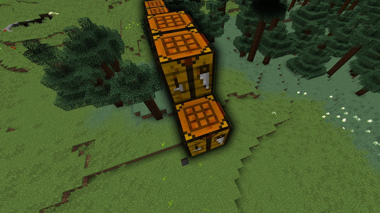 Telly bridging with Crafting tables