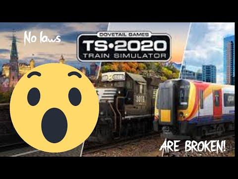 Braking no laws in Train Simulator 2020  