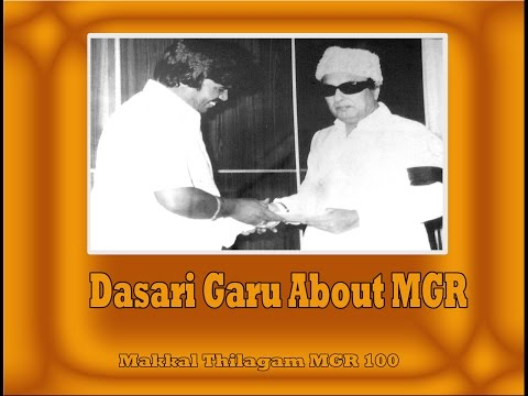 """mega-star-of-india"",-says-dasari-about-mgr-