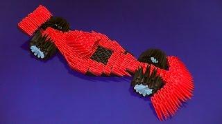 видео Как сделать машинку из бумаги оригами - Оригами машина из бумаги: пошаговая инструкция сборки гоночного автомобиля