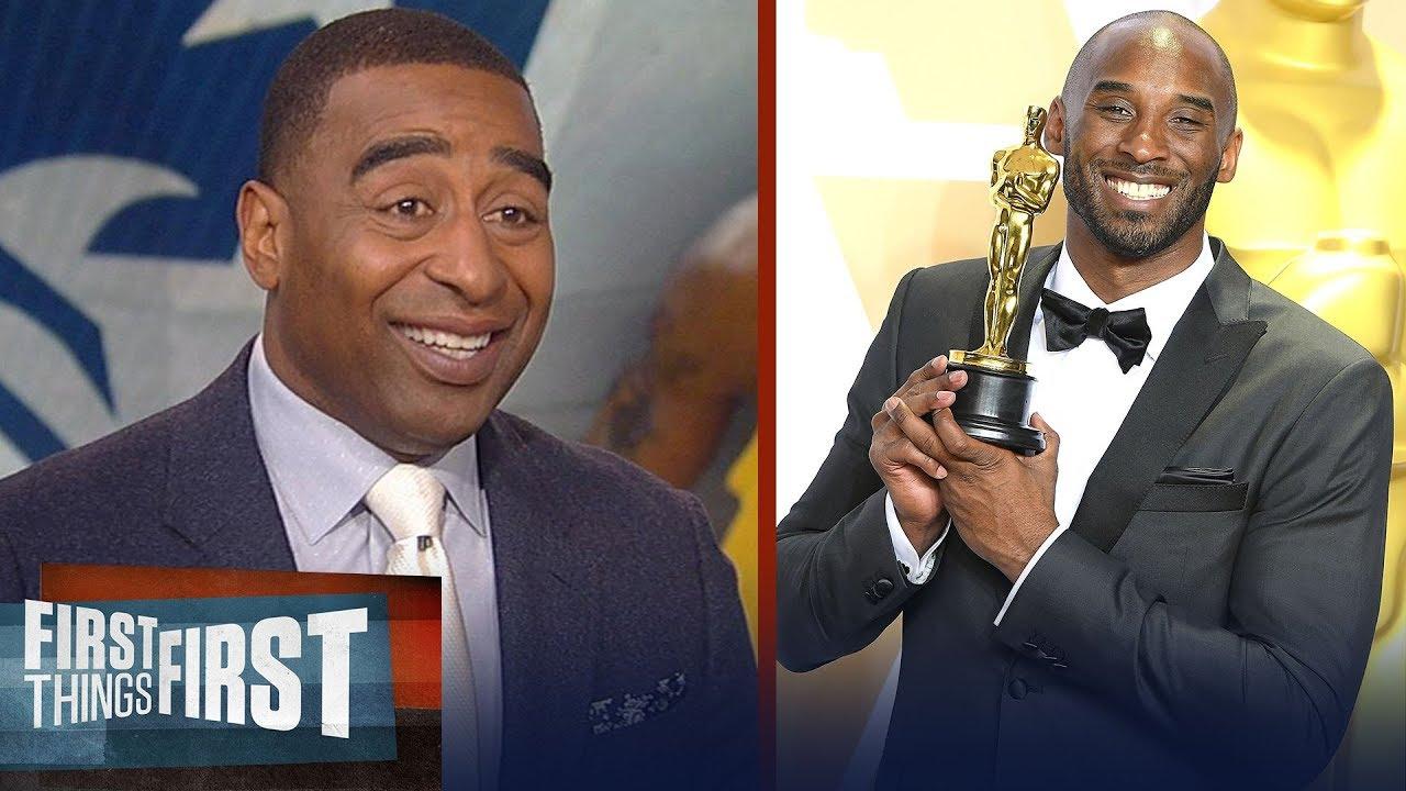 Kobe vs Brady: Cris Carter on the Black Mamba visiting Patriots' OTAs | NFL | FIRST THINGS FIRS