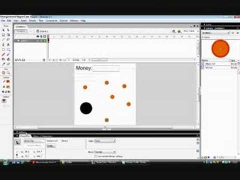 Macromedia Flash Pro 8 Game Tutorial 2 : Scoring System