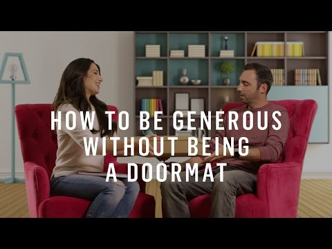 How To Set Boundaries: Be Generous Without Being A Doormat