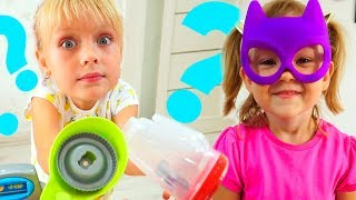 Margo and Mom  Play in Shopping with Baby Nastya and Toys!