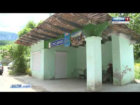 В посёлке Крыма разваливается единственное здание почты