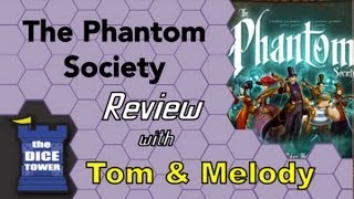 The Phantom Society Review - with Tom and Melody Vasel