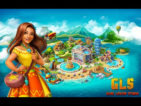 Paradise Island 2: Hotel Game Walkthrough | Best PC Game Play For Friends | Top Game UI | GLS
