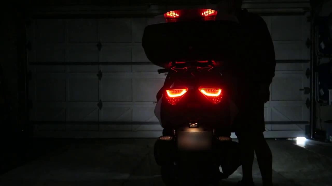 Yamaha Xmax 300 (USA) LED Lighting Modifications