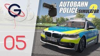 AUTOBAHN POLICE SIMULATOR 2 FR #5 : Je sors mon arme !