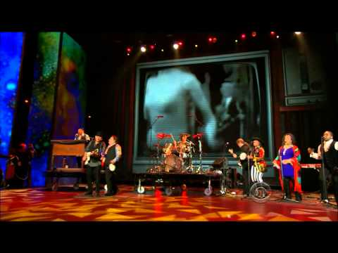 The Rascals performing at the Tony Awards