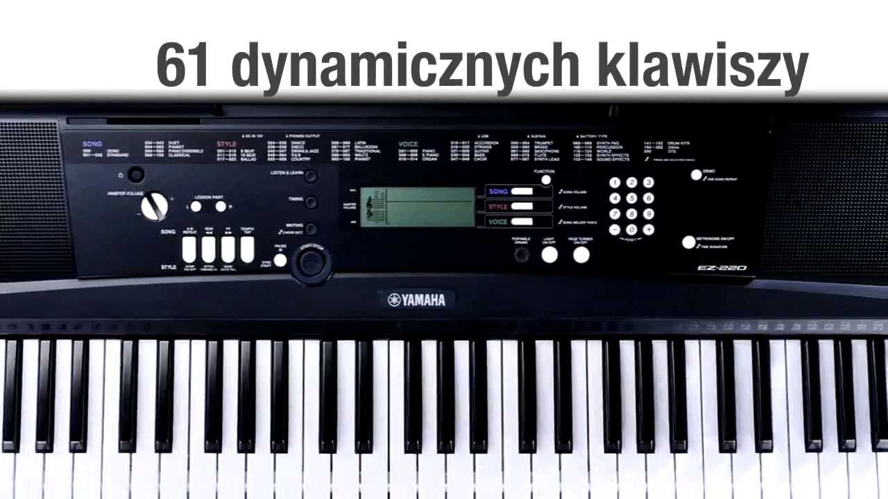 prezentacja keyboardu yamaha ez 220 youtube. Black Bedroom Furniture Sets. Home Design Ideas