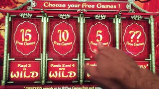 **NEW GAME** Dragons Temple BIG WINS! ✦Live Play w/BONUSES!✦ Slot Machine at Morongo in SoCal(Dragons Temple - New Game?? First time I've seen it! Thanks so much for watching! I hope you enjoyed it as much as I did! Please share your positive ..., 2016-08-06T17:07:28.000Z)