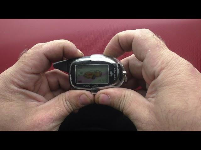 Программирование сигнализации scher khan magicar 7 с автозапуском с брелка