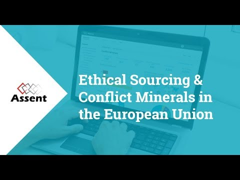 [Webinar] Ethical Sourcing & Conflict Minerals in the European Union