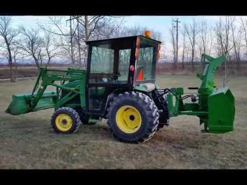 Homemade Tractor cab / John Deere 4310