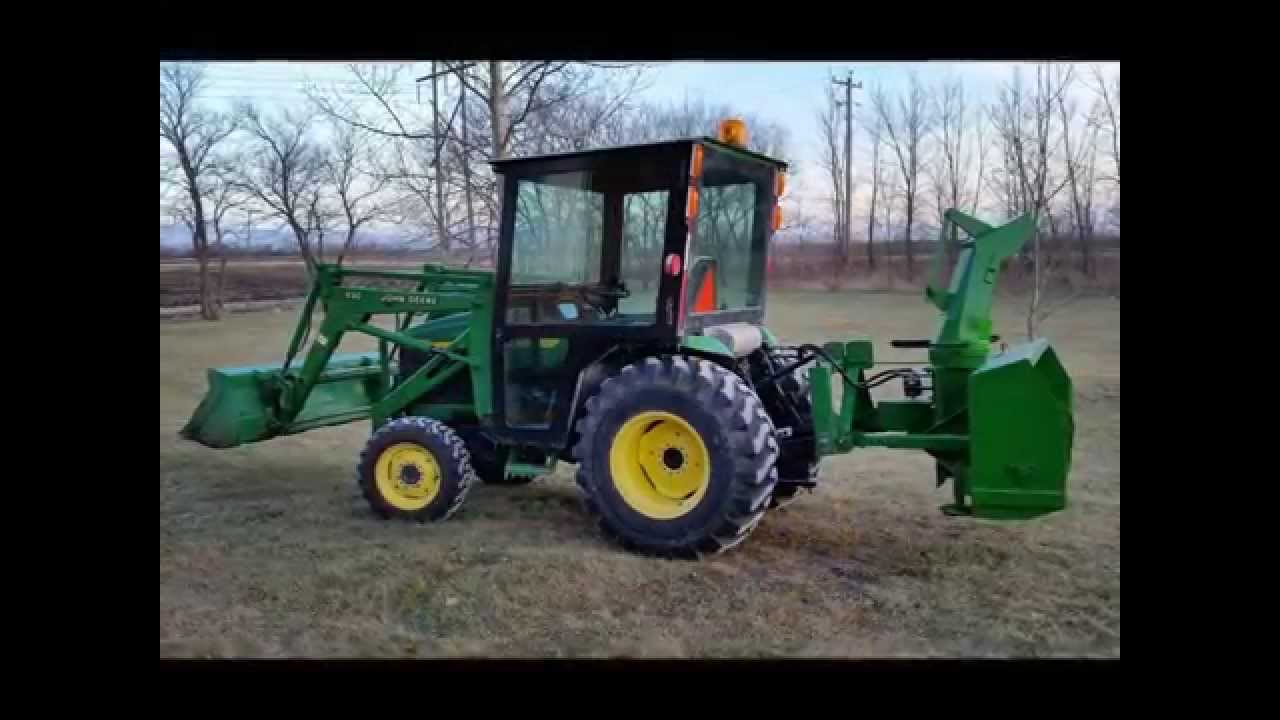& Homemade Tractor cab / John Deere 4310 - YouTube