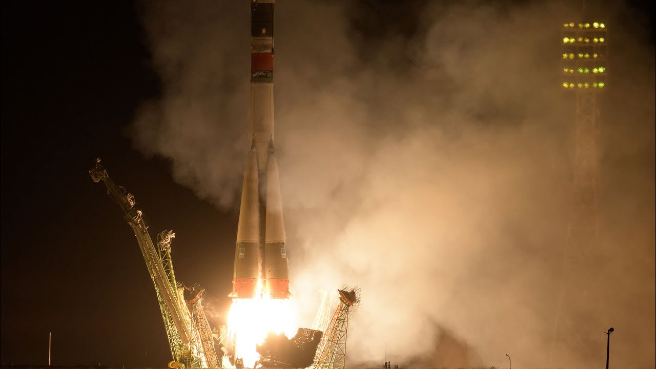 Live Launch to the International Space Station