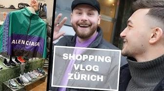 SHOPPEN in ZÜRICH mit SAINT MORÉ - GUCCI FAIL!!! | Muli Malone