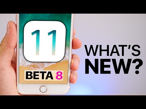 Download Youtube: iOS 11 Beta 8 Released! What's New?