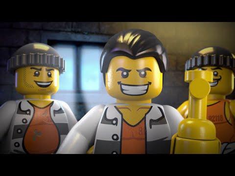 The Escape From Prison Island - LEGO® CITY Minimovie (3D)