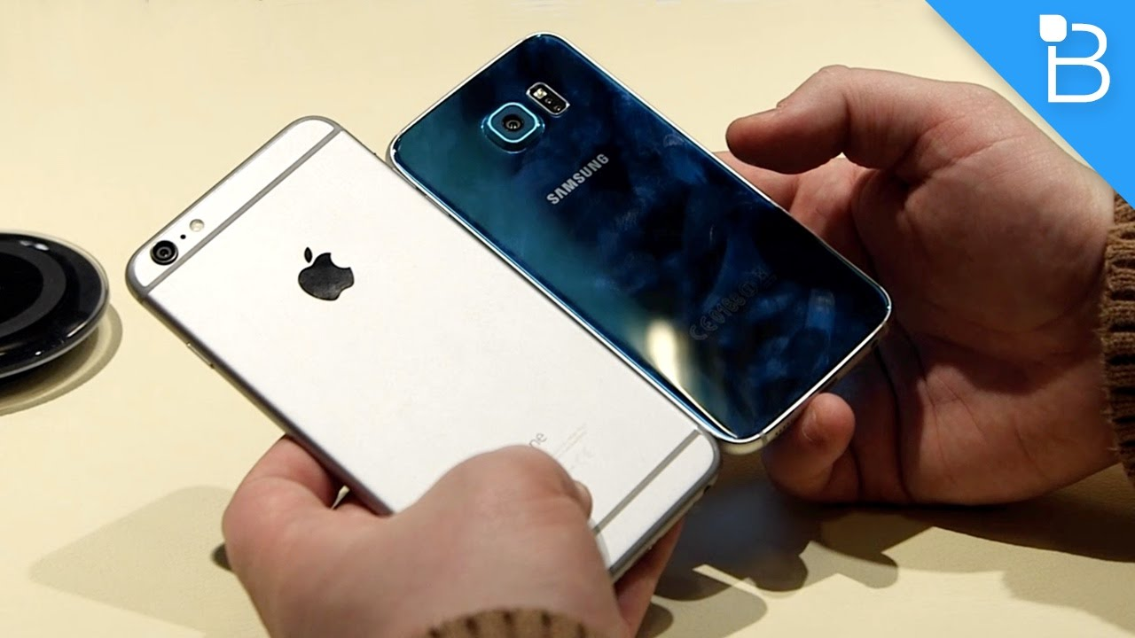 SAMSUNG GALAXY S6 VS IPHONE 6 PLUS
