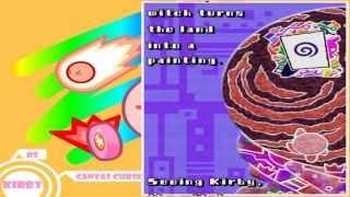 DS - Kirby Canvas Curse; A ball tale