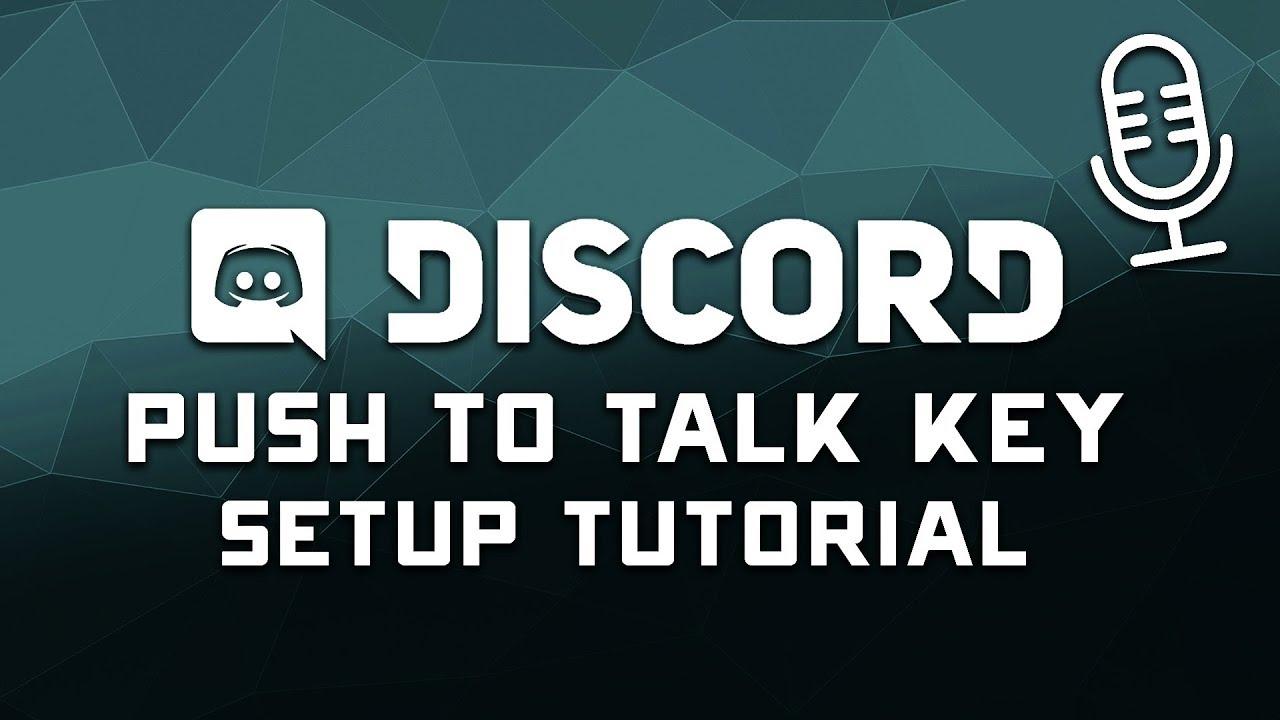 How to Setup a Discord Push to Talk Button