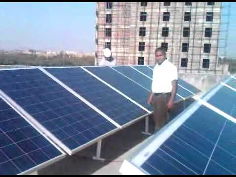 3 kw solar power plant