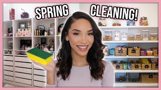 Organizing My Entire House! (Spring Cleaning Motivation)