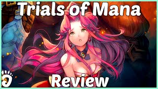Review: Trials of Mana (Reviewed on PS4, also on Switch and PC) (Video Game Video Review)