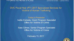 Specialized Services for Victims of Human Trafficking