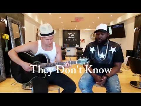 Jon B. | THEY DON'T KNOW cover by Corey Kelly