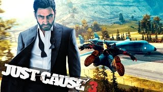 JAMES BOND IN JUST CAUSE 3 :: Just Cause 3 Crazy Stunts