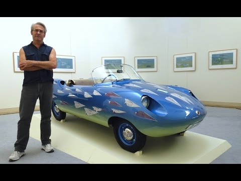 LDFA Unveiling The Goggomobil D'ART Exhibition | Robert Clinch