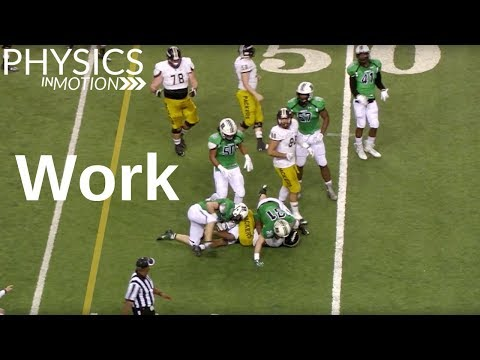 What Is Work? | Physics in Motion