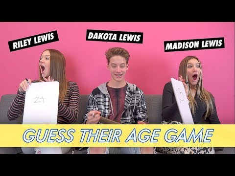 Madison, Riley and Dakota Lewis - Guess Their Age