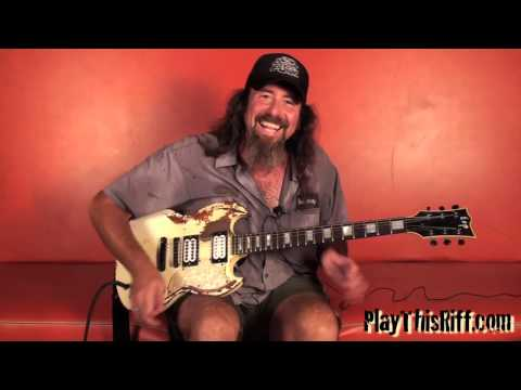 "CORROSION OF CONFORMITY Guitar Lesson ""Albatross"" for PlayThisRiff.com"