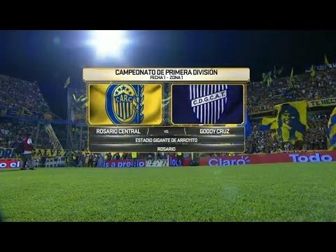 Mirá en vivo Rosario Central vs Godoy Cruz