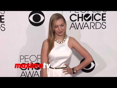 Sadie Calvano People's Choice Awards 2014  Red Carpet Arrivals
